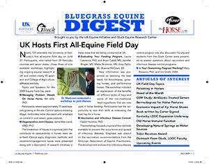 Bluegrass Equine Digest July 2009