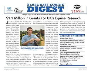 Bluegrass Equine Digest August 2009