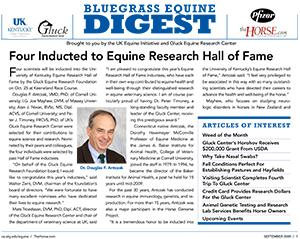 Bluegrass Equine Digest September 2009
