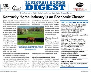 Bluegrass Equine Digest October 2009