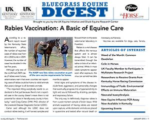 Bluegrass Equine Digest January 2010