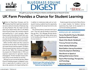 Bluegrass Equine Digest March 2010