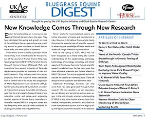 Bluegrass Equine Digest April 2010