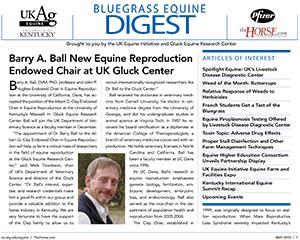 Bluegrass Equine Digest May 2010