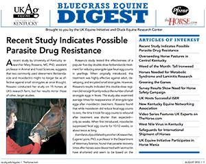 Bluegrass Equine Digest August 2010