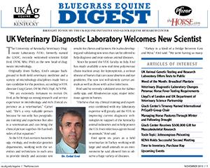 Bluegrass Equine Digest November 2010