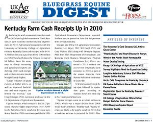 Bluegrass Equine Digest December 2010