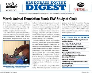 Bluegrass Equine Digest February 2011