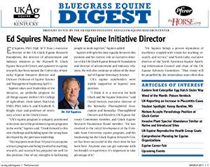 Bluegrass Equine Digest March 2011