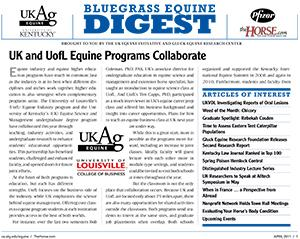 Bluegrass Equine Digest April 2011