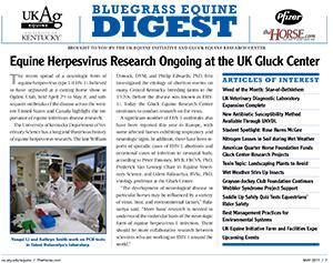 Bluegrass Equine Digest May 2011