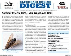Bluegrass Equine Digest June 2011