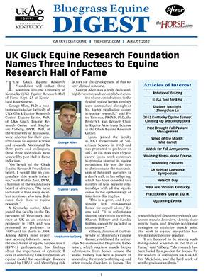Bluegrass Equine Digest August 2012
