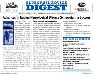 Bluegrass Equine Digest December 2011