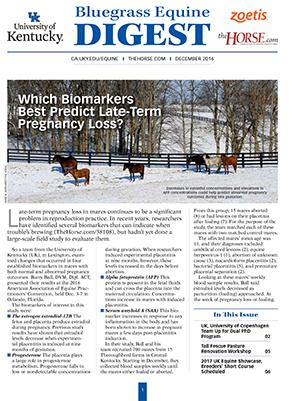 Bluegrass Equine Digest December 2016