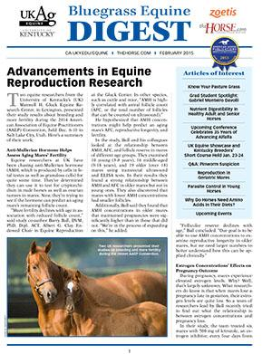 Bluegrass Equine Digest February 2015