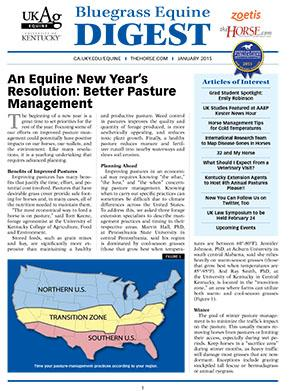 Bluegrass Equine Digest January 2015