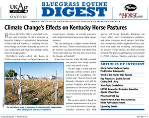 Bluegrass Equine Digest July 2011