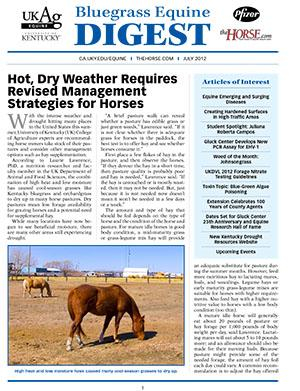 Bluegrass Equine Digest July 2012