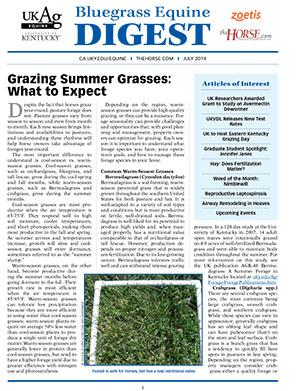 Bluegrass Equine Digest July 2014
