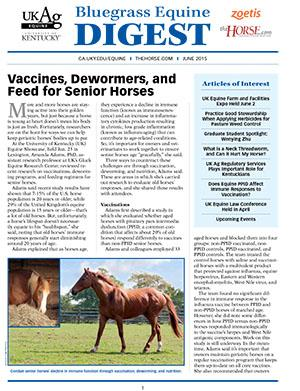 Bluegrass Equine Digest June 2015