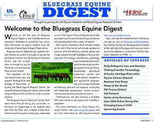 Bluegrass Equine Digest June 2009