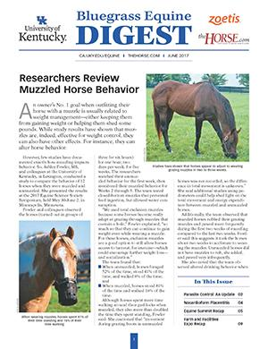 Bluegrass Equine Digest June 2017