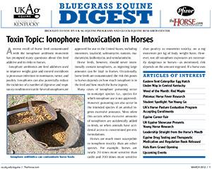 Bluegrass Equine Digest March 2012
