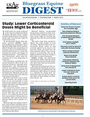 Bluegrass Equine Digest March 2014