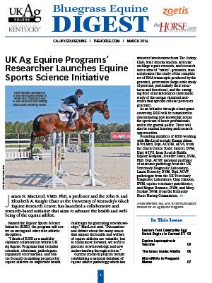 Bluegrass Equine Digest March 2016