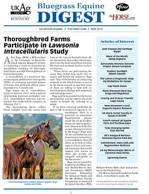 Bluegrass Equine Digest May 2012