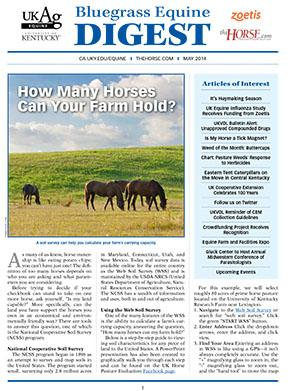 Bluegrass Equine Digest May 2014