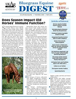 Bluegrass Equine Digest May 2015