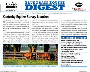 Bluegrass Equine Digest November 2011