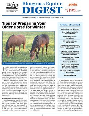 Bluegrass Equine Digest October 2014