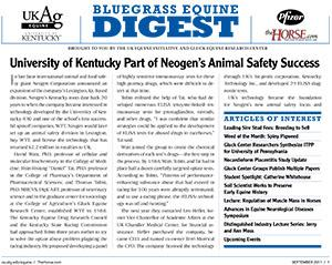 Bluegrass Equine Digest September 2011