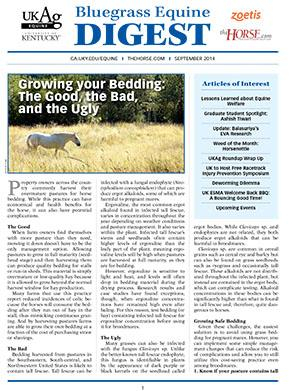 Bluegrass Equine Digest September 2014