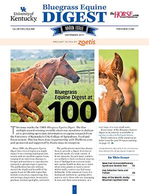 Bluegrass Equine Digest September 2017