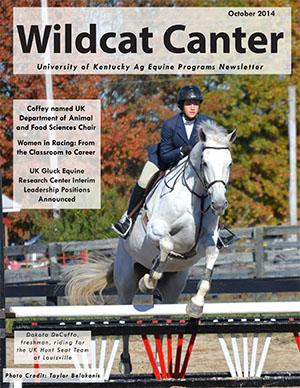 Wildcat Canter - October 2014